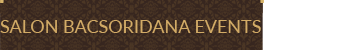 Bacsoridana Events